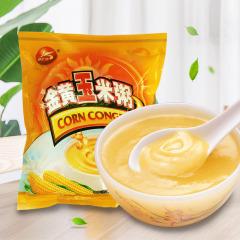 康汇佳金黄玉米粥350克 无糖添加食品冲饮即食糊