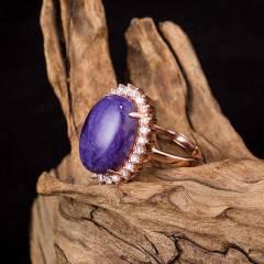 紫韵华贵戒指