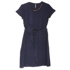 DS重磅丝质连衣裙  货号122810