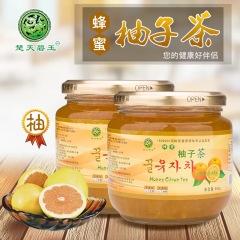 楚天碧玉600g蜂蜜柚子茶清新甜蜜容量大冻龄女神酷爱