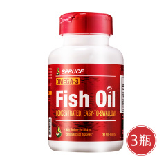 美国进口云杉鱼油卵磷脂双11组