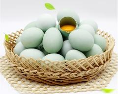 湖北麻城绿壳蛋土鸡蛋农家散养家鸡蛋30枚